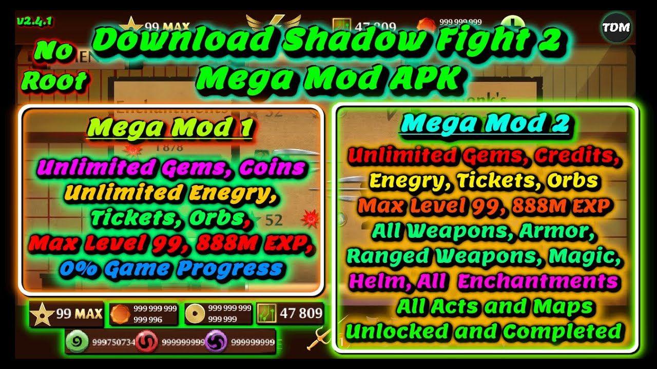 Shadow fight 2 99 max level mod apk download free pc windows 7