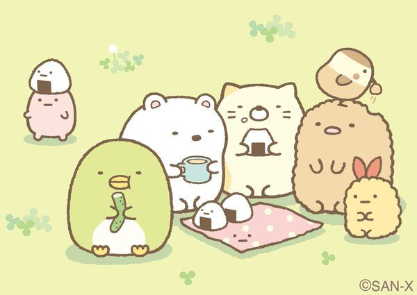 Sumikko gurashi picnic
