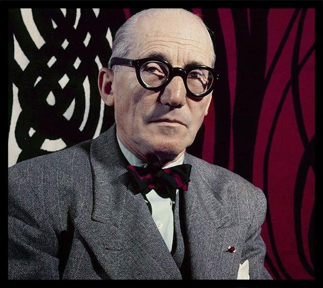 Le Corbusier, famoso arquiteto franco-suiço, nascido em 06/10/1887