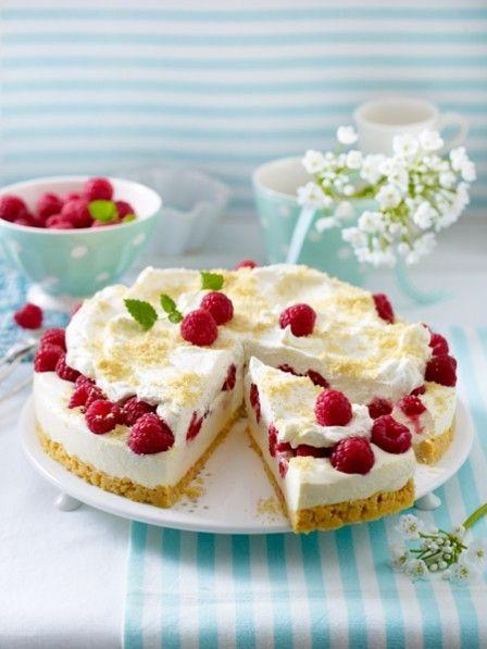 Kuchen mit himbeeren backen