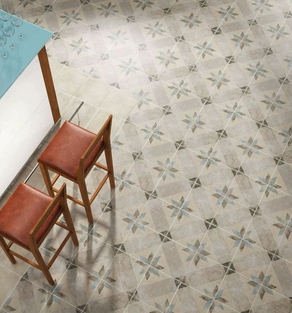 Beautiful Pattern Tiles With A Star Themed Patterns. These
