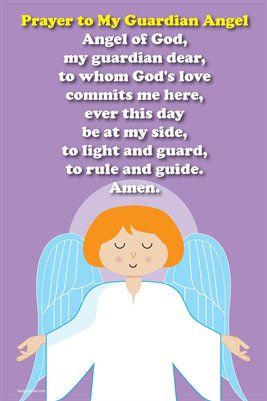 Image result for guardian angel prayer for kids