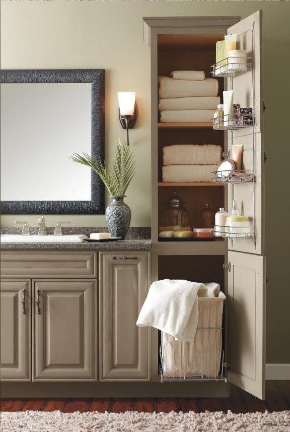 Bathroom Decor Create A Splash In Your Bathroom Furnishings By Bringing In Bathroom Accessori Bathroom Remodel Master Bathroom Linen Cabinet Bathrooms Remodel