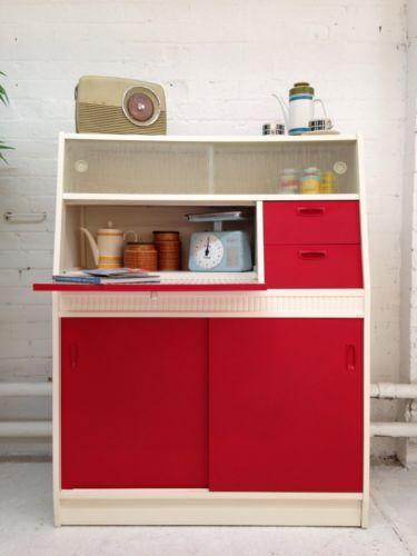 Details About Vintage Retro Kitchen Cabinet Larder