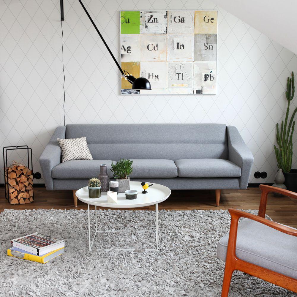 Vintage Möbel Kaufen nordisch einrichten mit vintage möbel und sofa cosmo in retro look