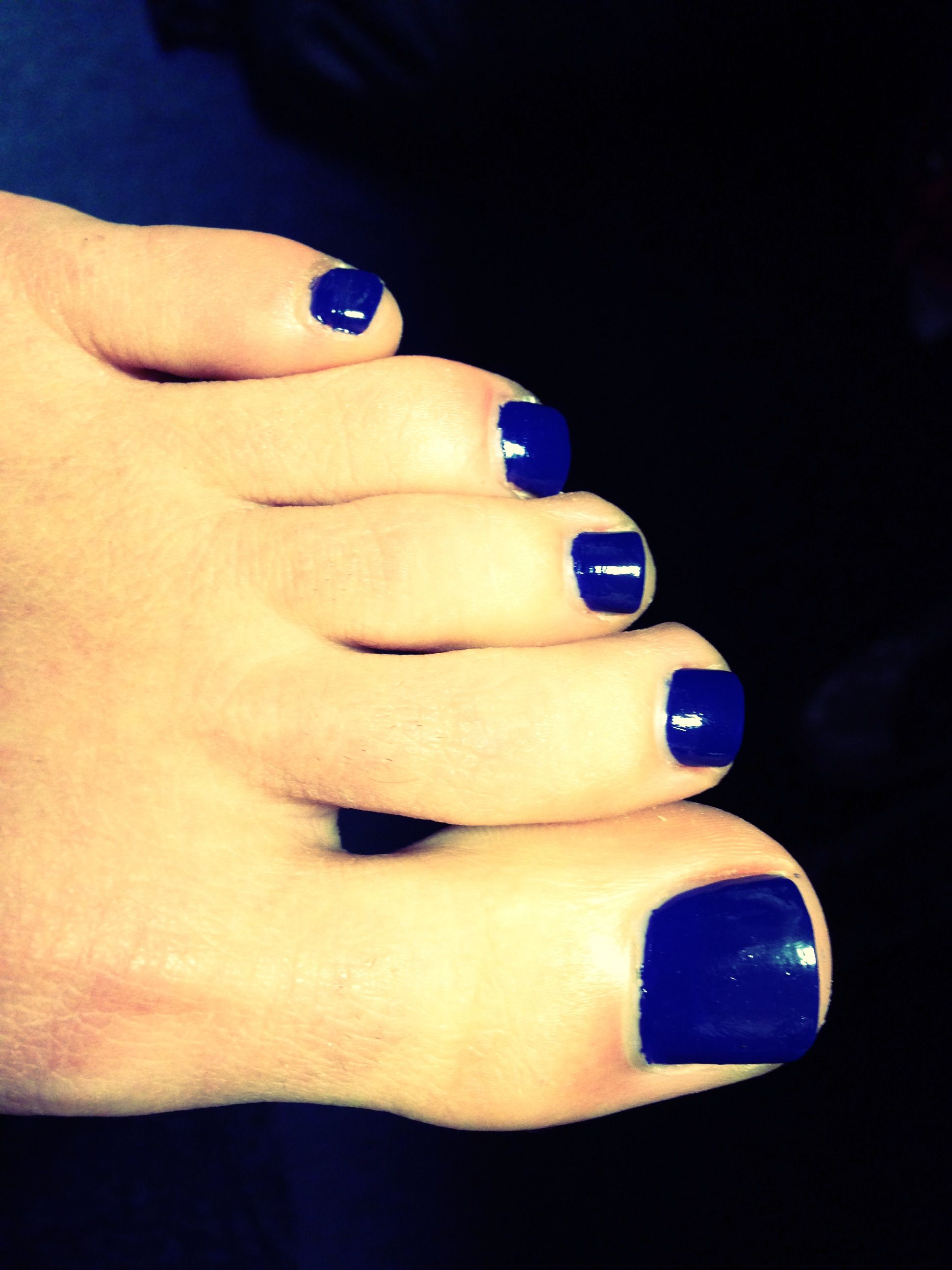 Nails; OPI royal blue color ! #tosey UK Wildcat Blue, Toe Nail ...