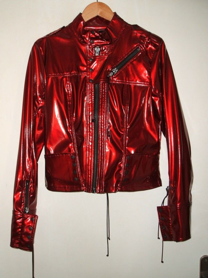 Photostream Outerwear Jackets Jackets Red Leather Jacket