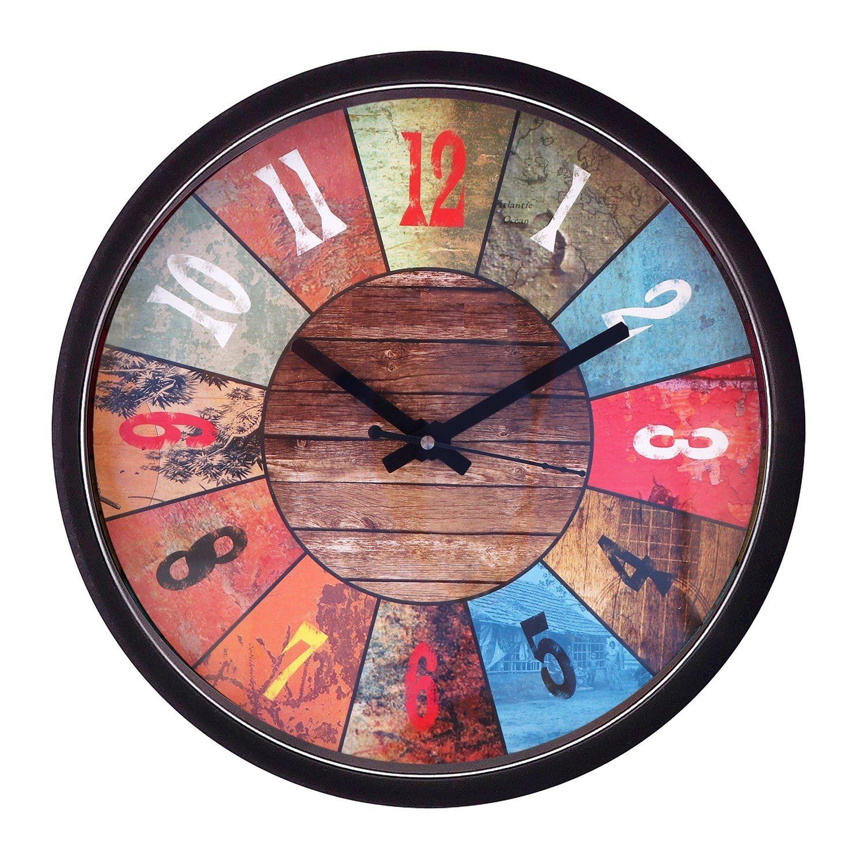 Shop Wooden Wall Clock Online At Best Price In India On Mishty In Get Varieties Of Designer Wall Clocks At Affordable And R Wall Clock Online Wall Clock Clock