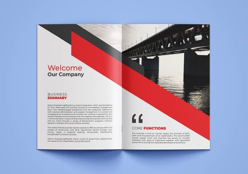 Pushpo Pro I Will Design A Professional Brochure Company Profile In 12 Hrs For 5 On Fiverr Com Company Profile Professional Brochure Brochure