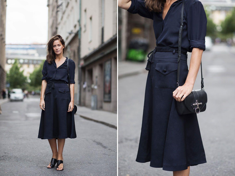 Filippa k pocket maxi skirt