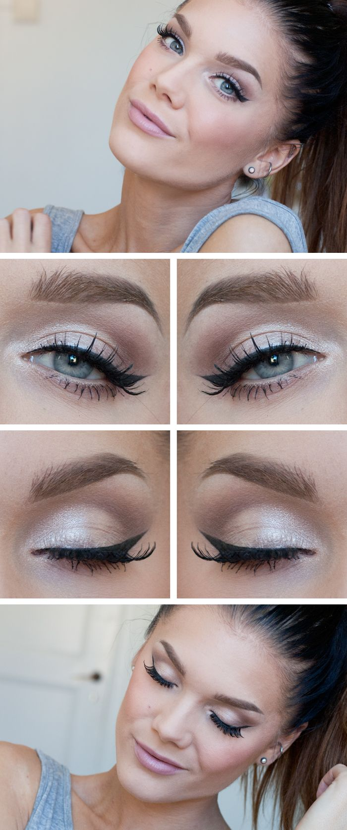 How to make light makeup 9