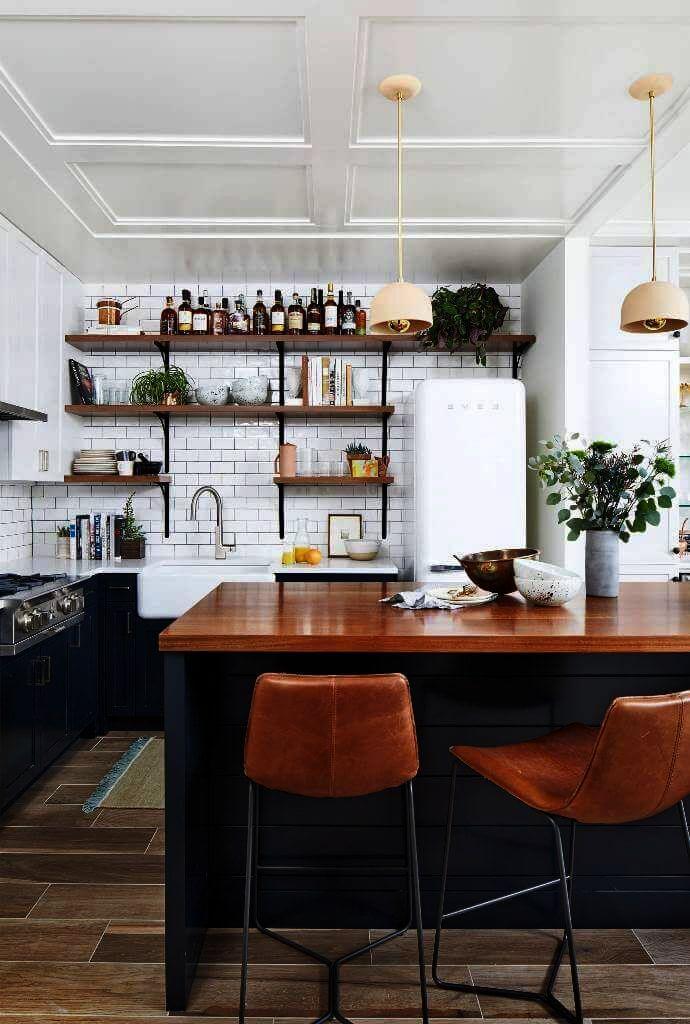 Home Decorators Collection Eir Ashcombe Aged Oak Into Interior Design Ideas For 1 Room Kitchen Flat Other Interior Modern Kitchen Design Interior Design Kitchen