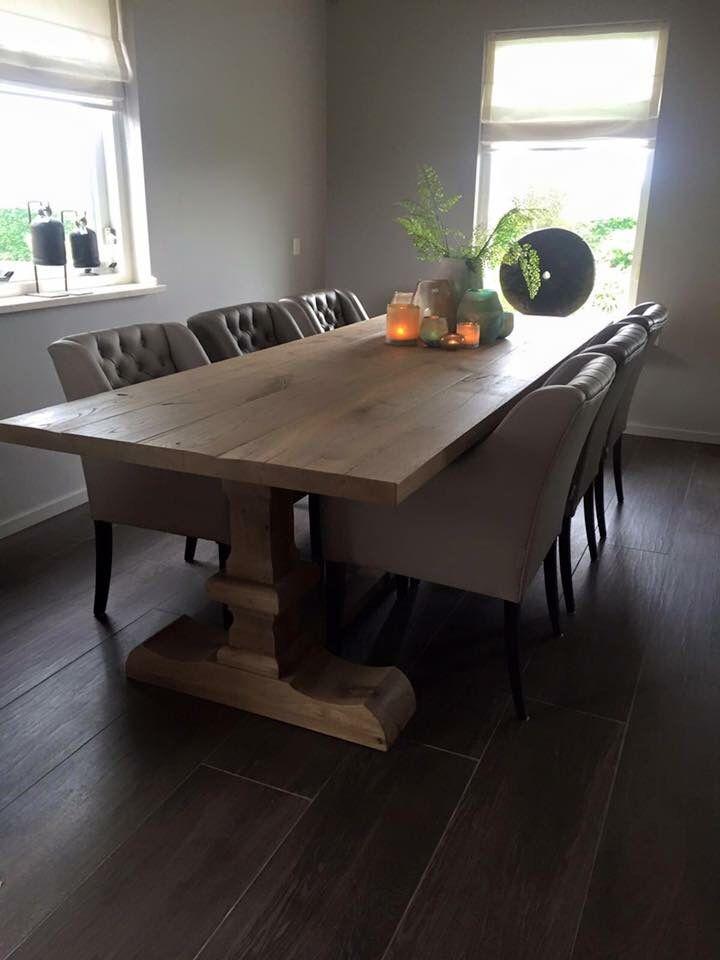 Wonderbaar MaisonManon - Eetkamertafel met stoelen | House - Woonkamer ideeen IQ-75