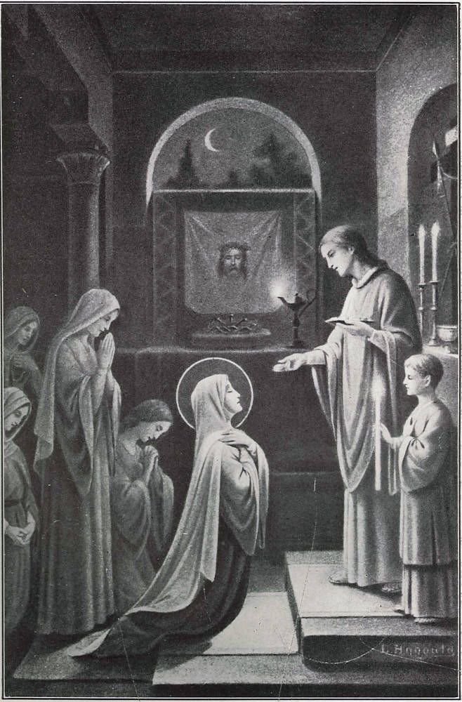 The Blessed Virgin Receiving Holy Communion from Saint John