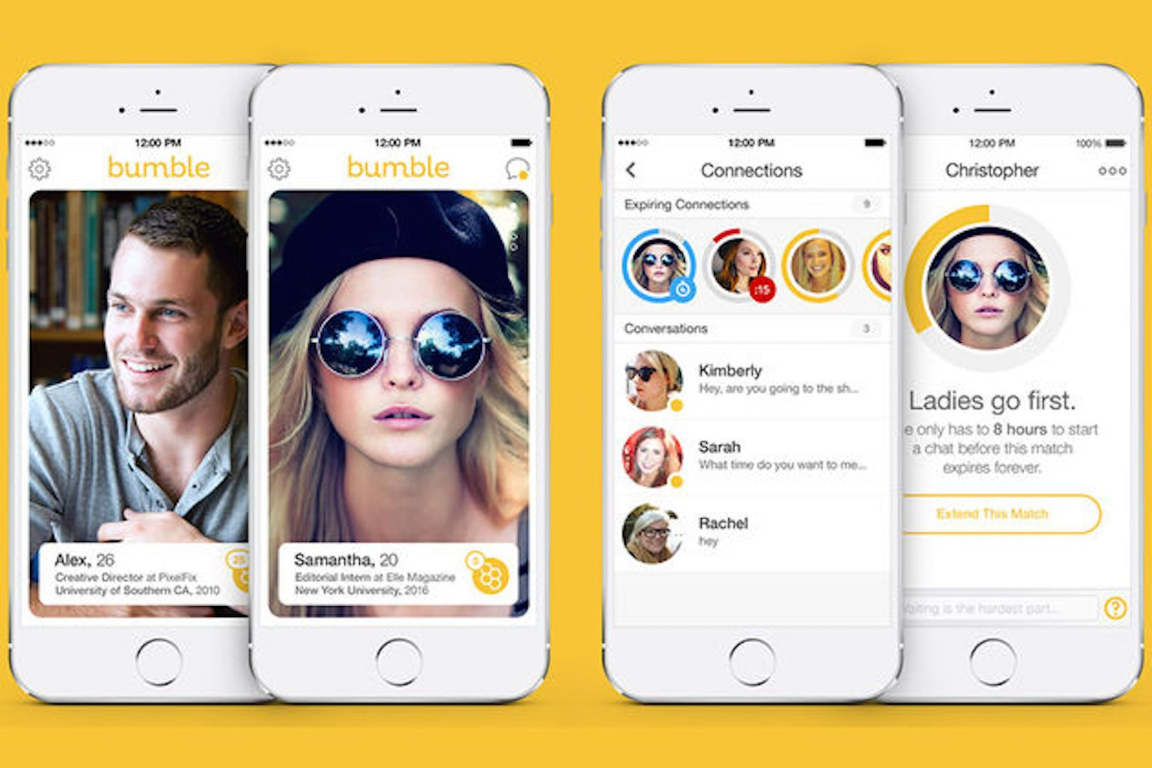 6 Things To Do On Bumble Bumble dating app, Bumble app