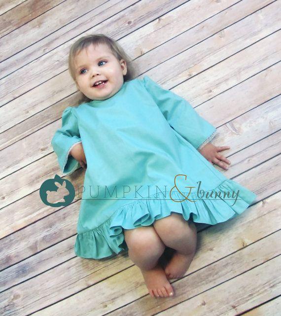 Bluebell Dress PDF Pattern  Sizes 6mo 14 by PumpkinBunnyPatterns