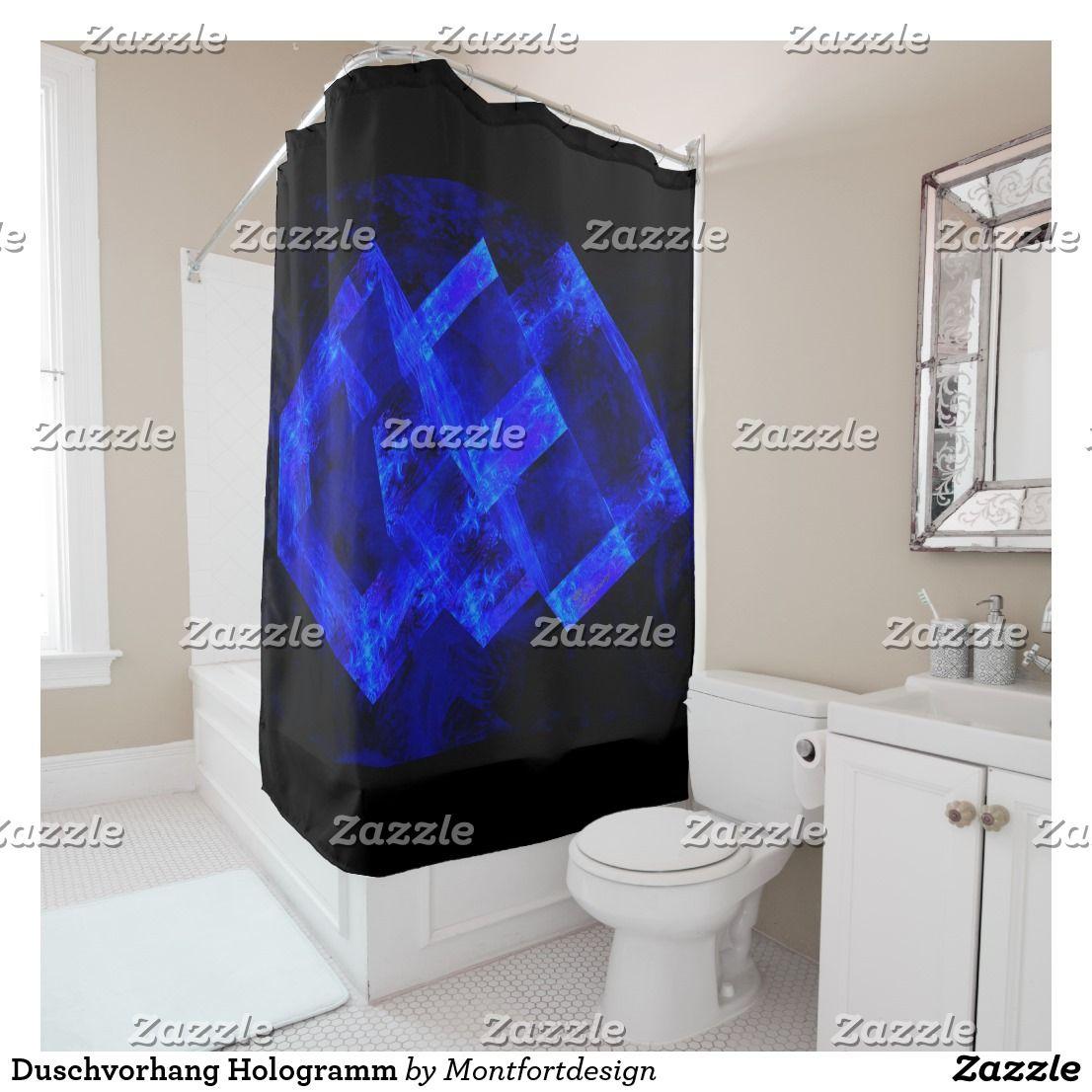 Shower Curtain Hologram