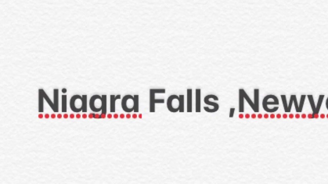The Niagara Falls Unbelievably Beautiful A Mini Tour Youtube Mini Tour Travel Guides Layout Niagara Falls