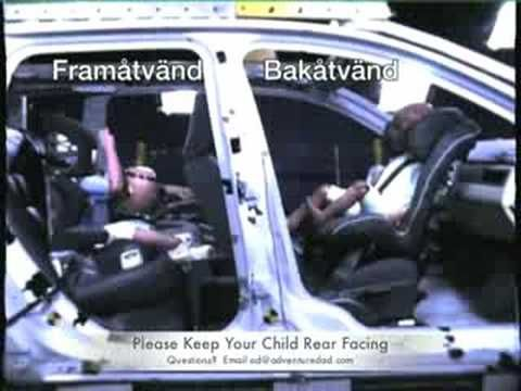 Why To Rear Face A Car Seat Until The Maximum Height