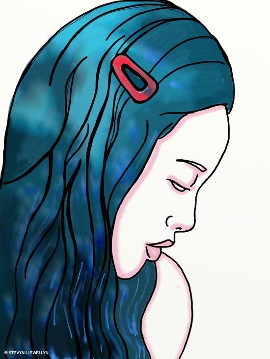 Watercolor Barrette Artrage Illustration By Stevyn Llewellyn Artrage Illustration Art