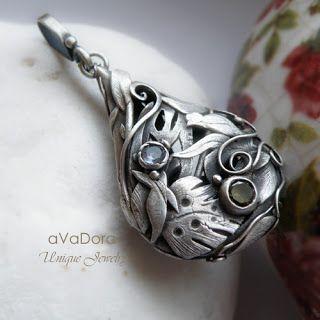 Photo of dora design art jewelry, metal clay