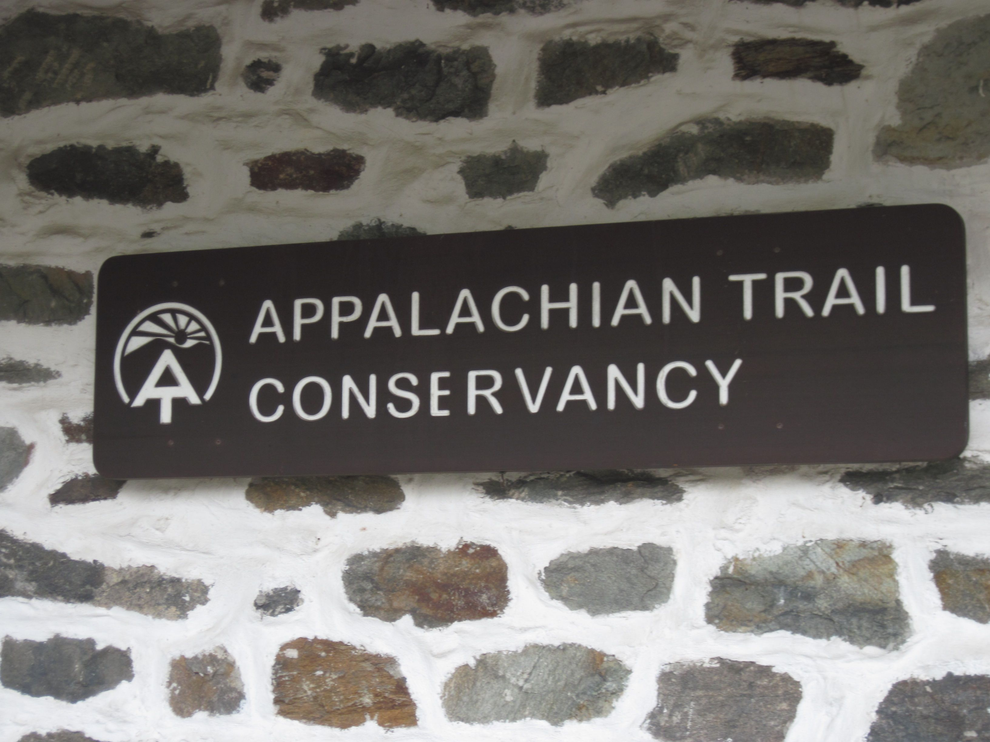 Sign outside Appalachian Trail Conservancy