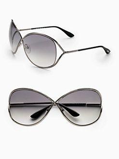 8158befb1969 Tom Ford Eyewear - Miranda Oversized Round Sunglasses