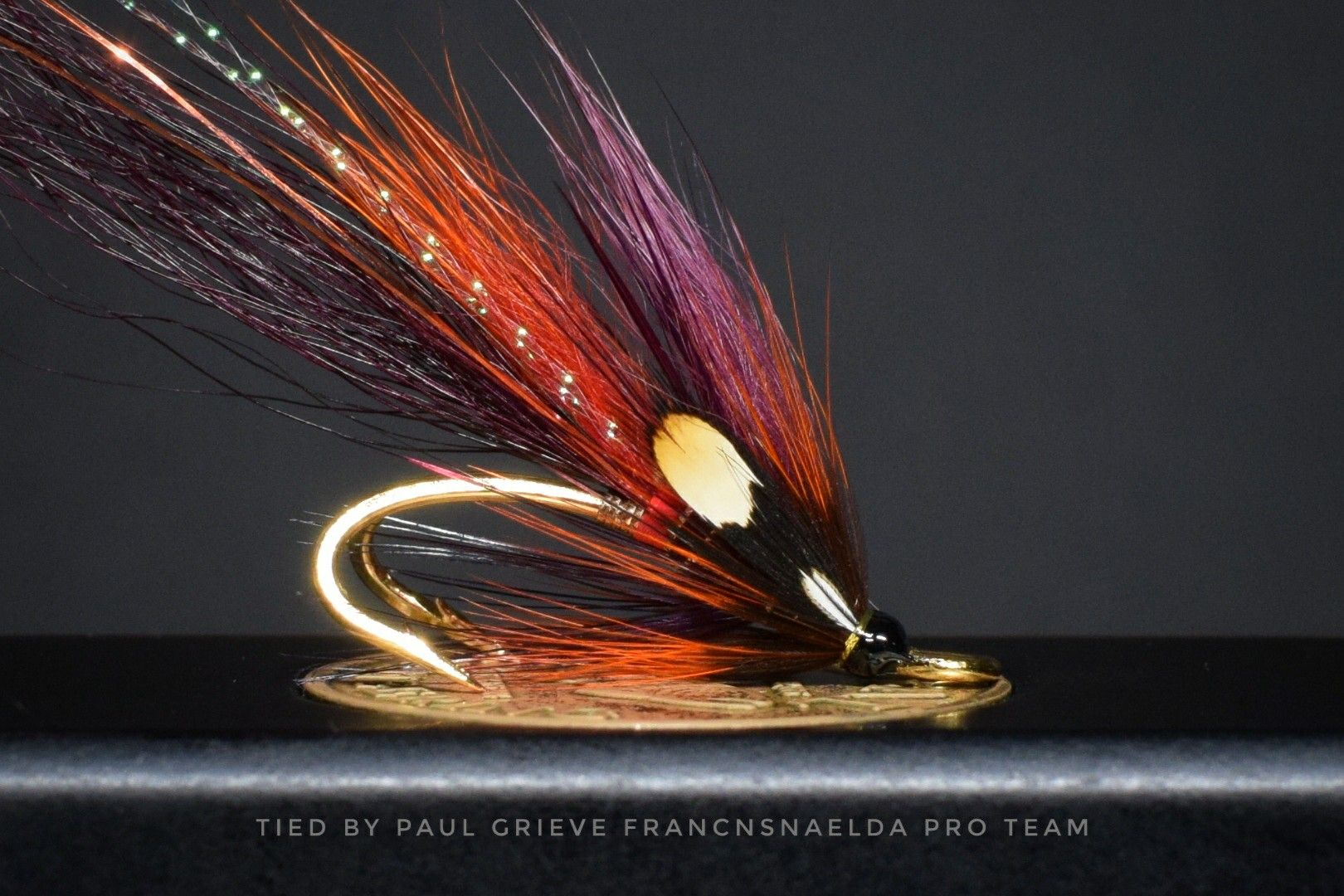 A fly I did last year and since forgot about, thought it would look well on gold hook By PG Quality Flies