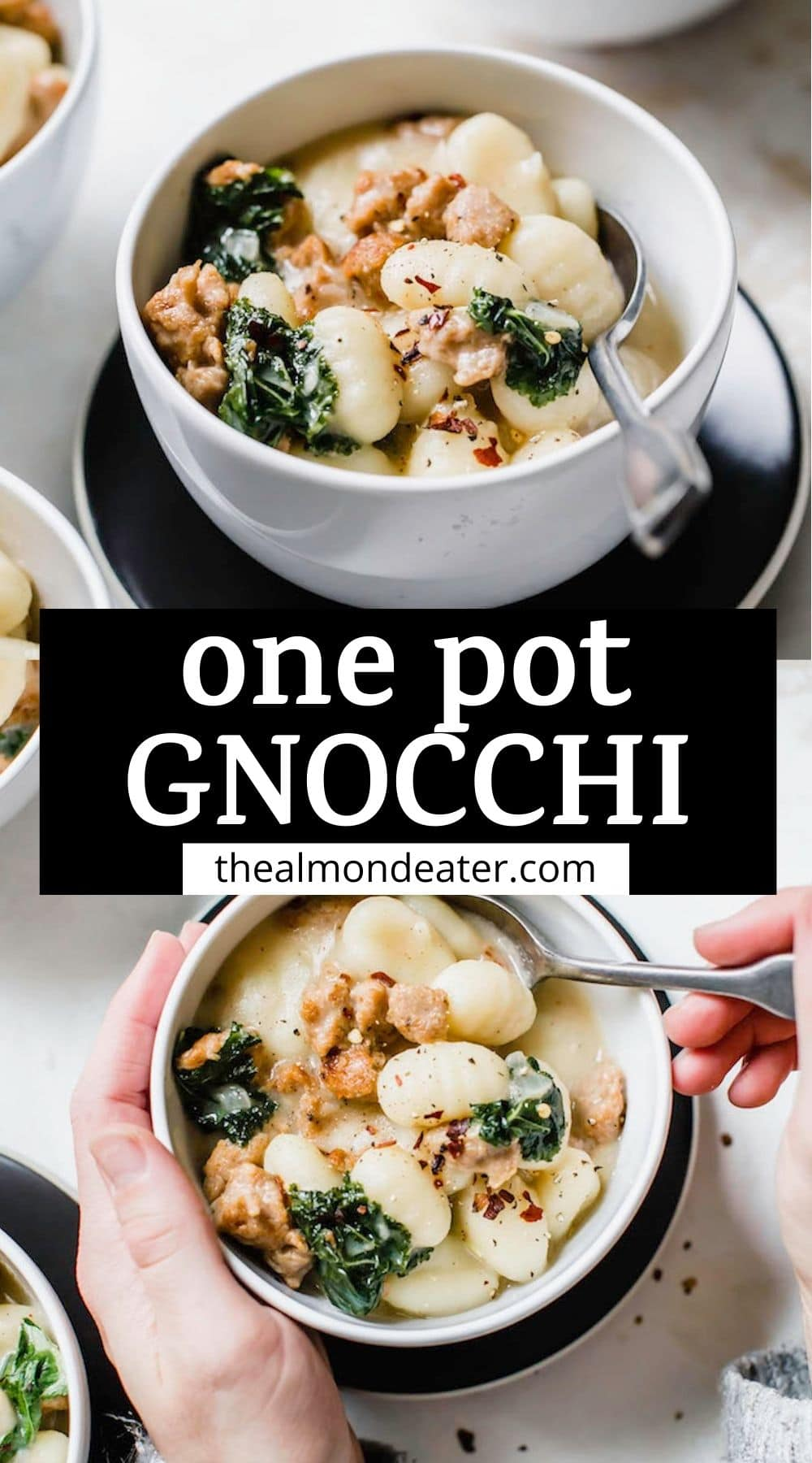 One Pot Gnocchi with Sausage and Kale : The Almond