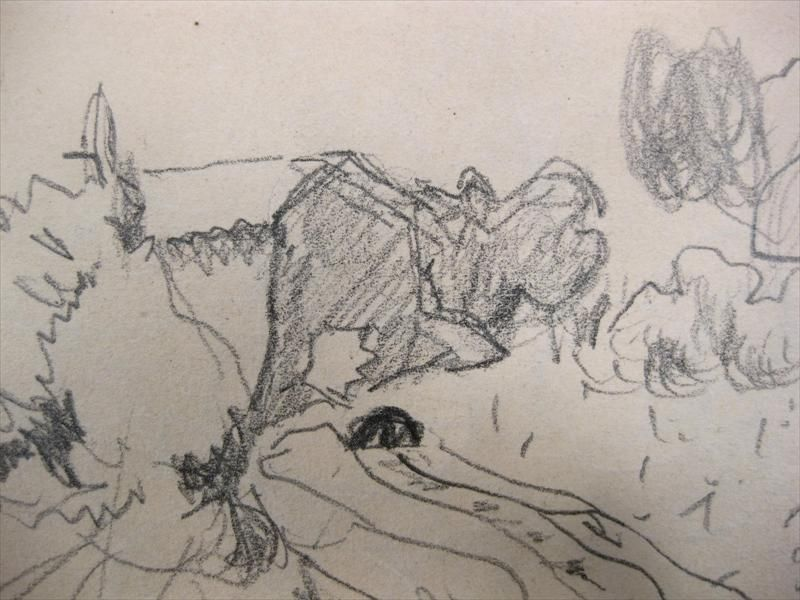 Igavel auctions pierre bonnard french 1867 1947 double sided pencil drawing