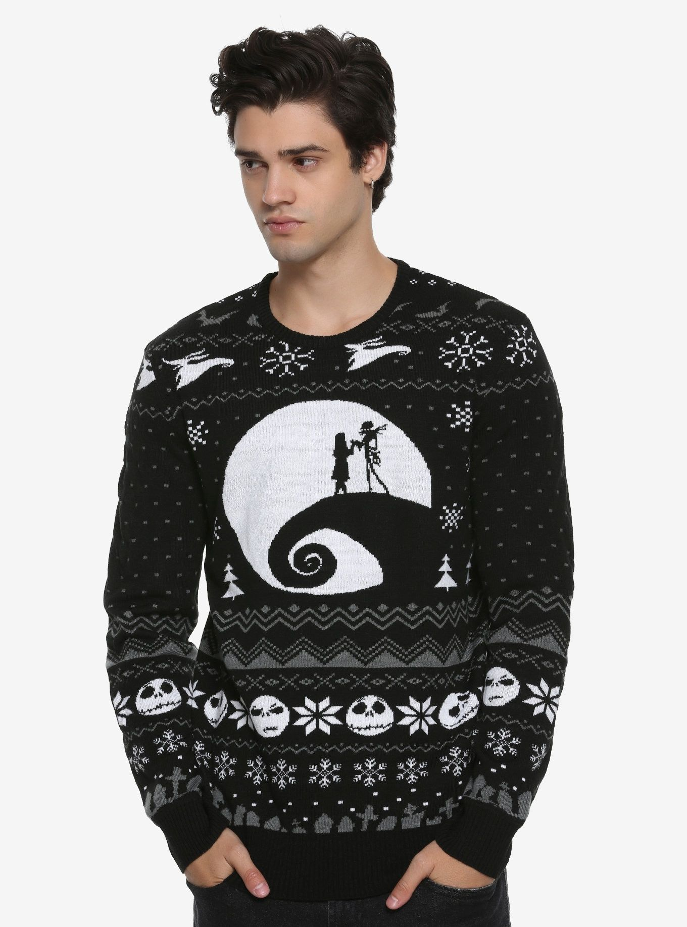 The Nightmare Before Christmas Fair Isle Sweater in 2018 | Stylin ...