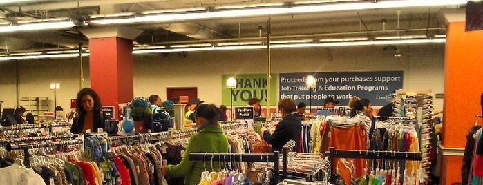 Seattle Goodwill is one of The 9 Best Thrift and Vintage Stores in Seattle.