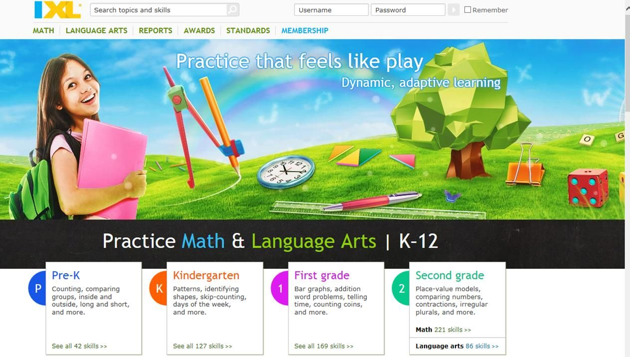 IXL - Online Math site linked to the common core to help kids learn ...