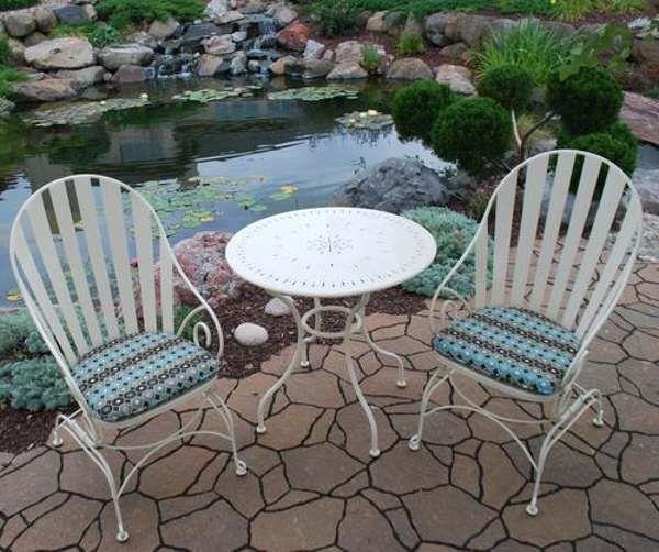Menards patio furniture backyard creations | French Bistro ...