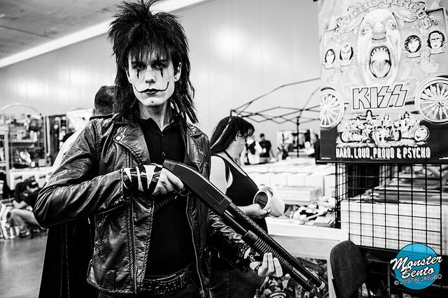 @Alexander Albatross as The Crow at Big Wow! ComicFest 2013 | Flickr - Photo Sharing!