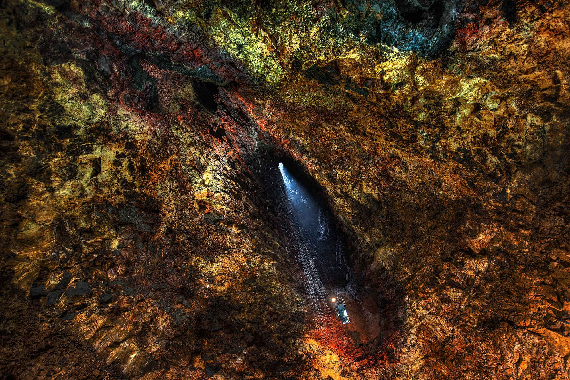 Descend Deep into the Depths of a Volcano