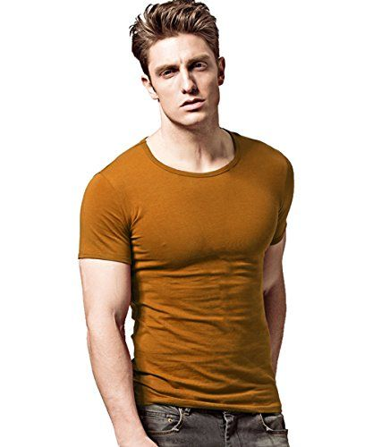 XUDIAN Short Sleeves Mens T-Shirt Crew-Neck