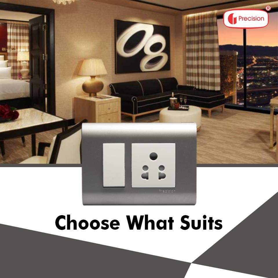 A stunning range of sleek switches to suit your decor.  Choose what suits from www.precisionelectricals.com  #stunning #range #sleek #choosewhatsuits #precisiontechnology #precisionproducts #precisionswitches #precisionelectricals