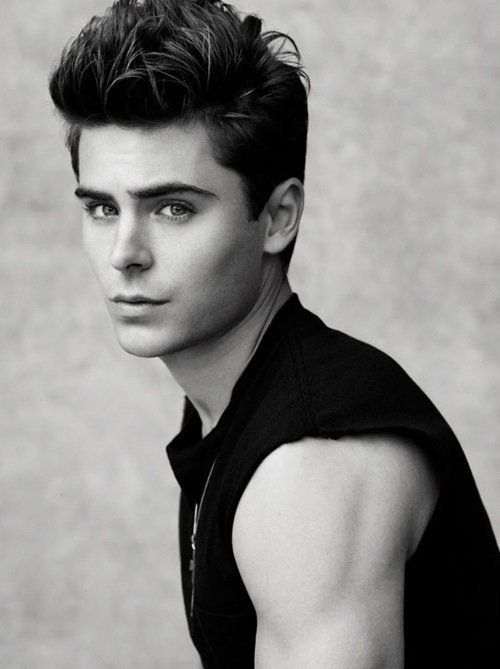 Zac efron sometimes i get it and sometimes i dont this i get he looks very jared leto so that earns him a few more points
