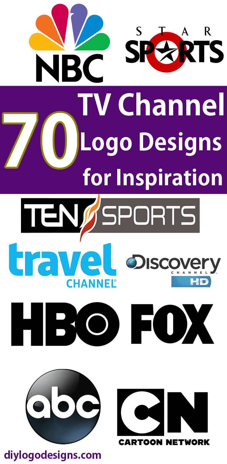 70+ Famous TV Channel Logo Designs for Inspiration. check