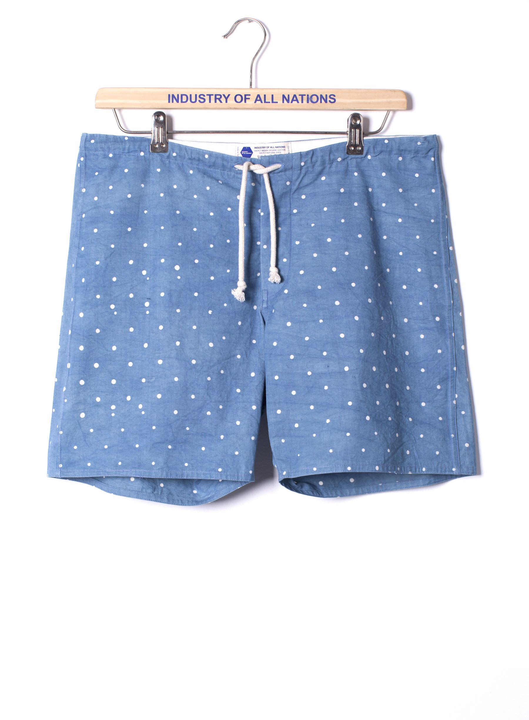 Madras Batik Boardshorts at INDUSTRY OF ALL NATIONS™ in 6 DIPS INDIGO in XS, S, M, L, XL