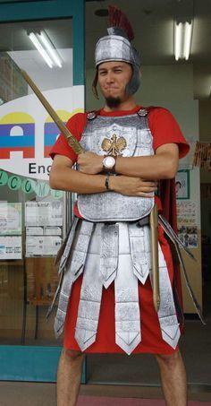 Roman Soldier Apron Centurion Costume Caesar Nativity Legionnaire Gladiator