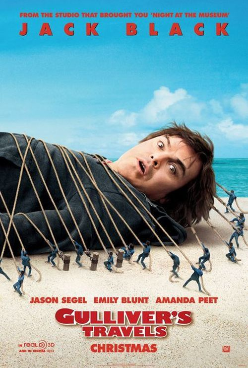 Gulliver's Travels #movies #films | Gulliver's travels, Travel movies, Movie  posters