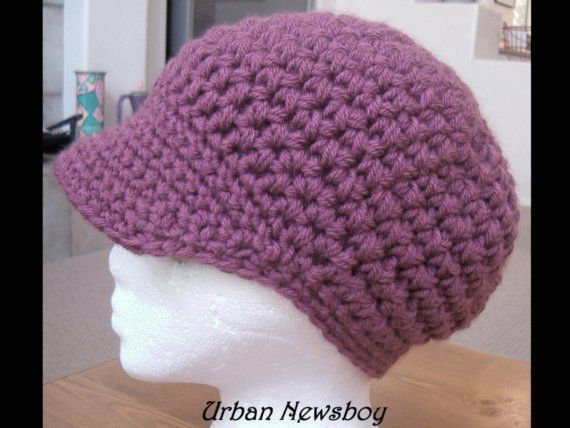 Crazy Easy Urban Newsboy Cap Crochet Pattern -Super Fast- 2 hours ...