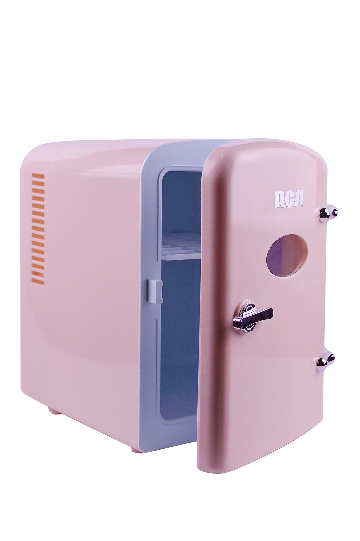 Rca Pink 6 Can Mini Retro Fridge Nordstrom Rack Retro Fridge Pink Mini Fridge Retro Pink Bedroom