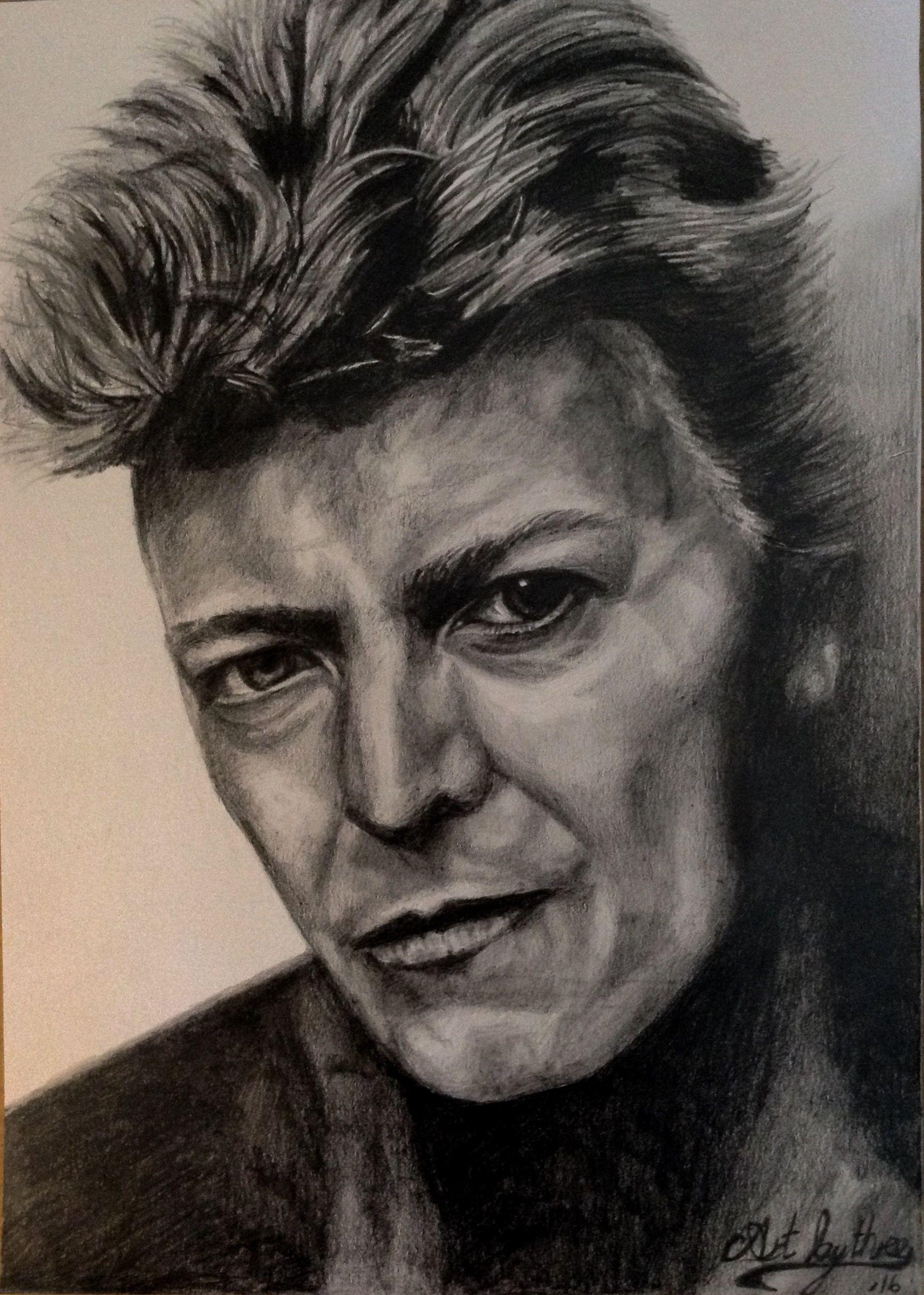David Bowie Sketch