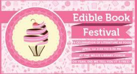 Edible Book Festival at UNT April 1, 2014.