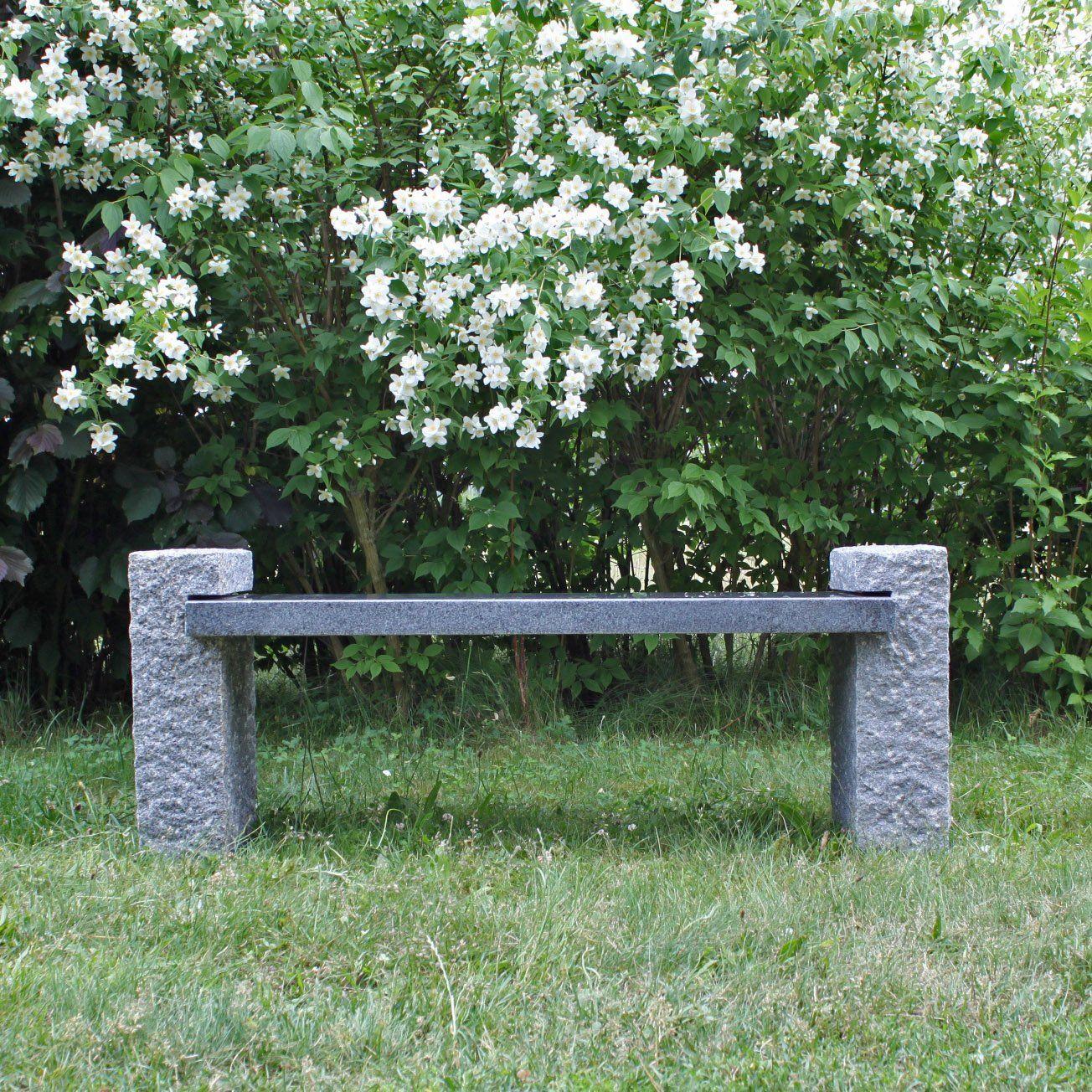 Granit Gartenbank Angebote Naturstein Garten Natursteine