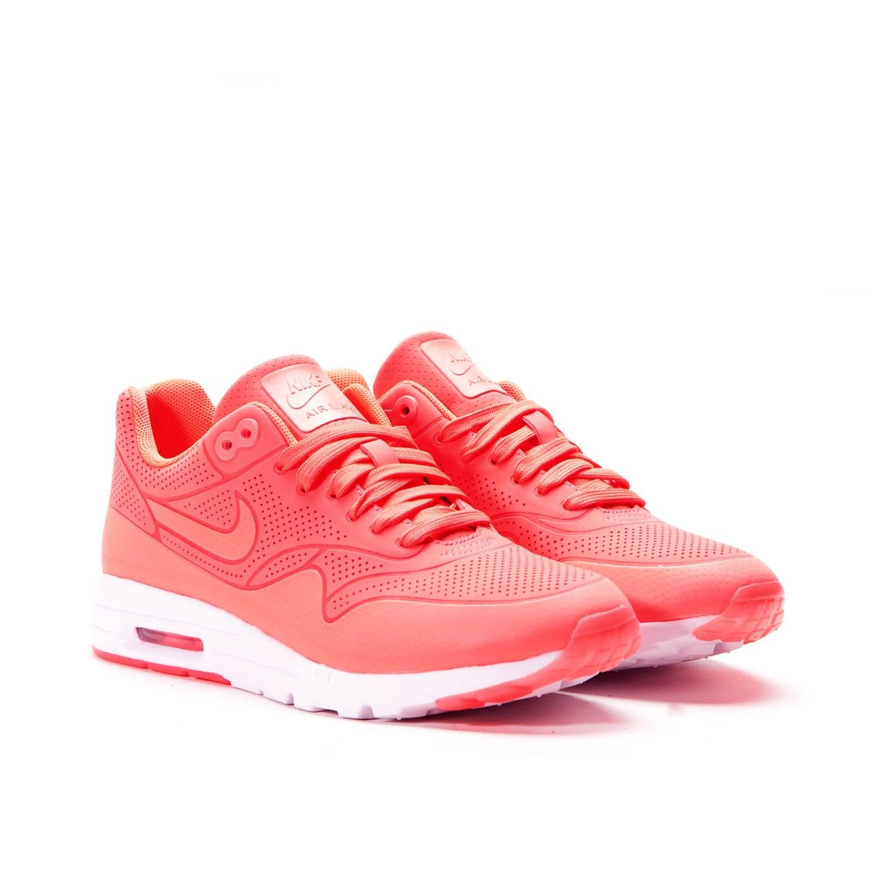 nike wmns air max 1 essential white\/team red-action red roof