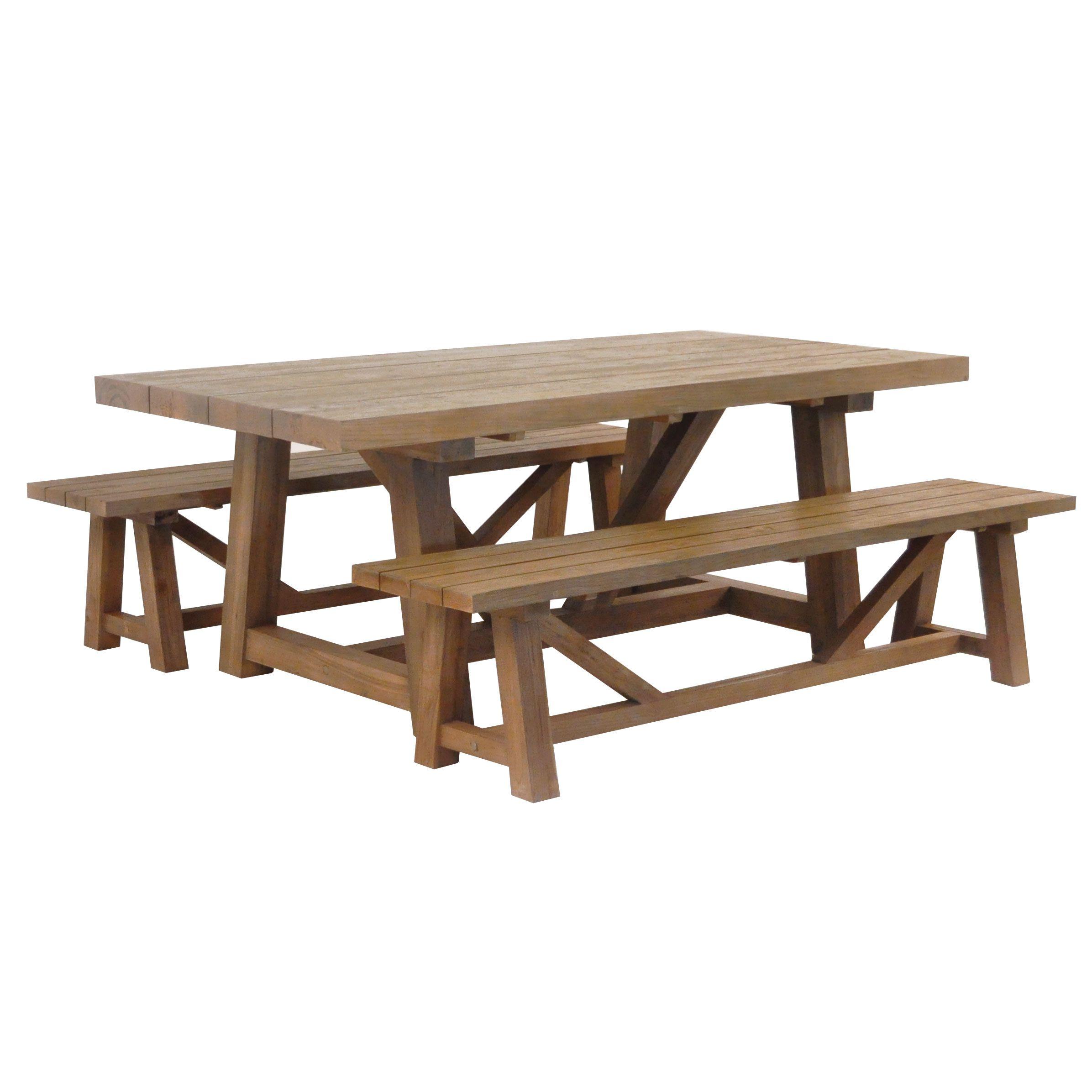 Reclaimed Teak Trestle Table Trestle Dining Tables Dining Table Trestle Table